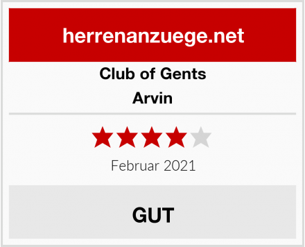 Club of Gents Arvin Test