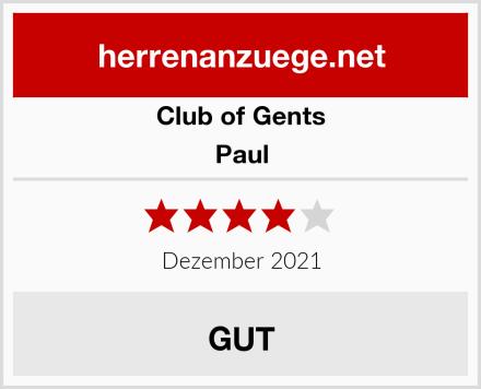 Club of Gents Paul Test