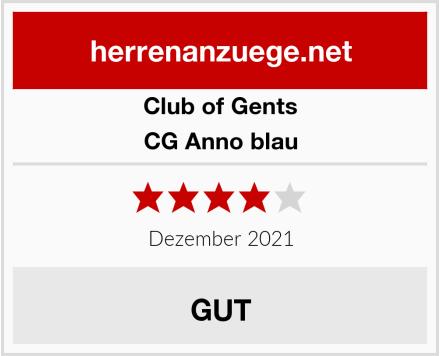 Club of Gents CG Anno blau Test