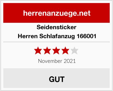 Seidensticker Herren Schlafanzug 166001 Test