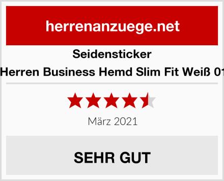 Seidensticker Herren Business Hemd Slim Fit Weiß 01 Test