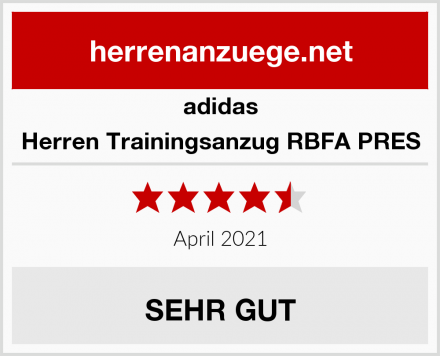 adidas Herren Trainingsanzug RBFA PRES Test