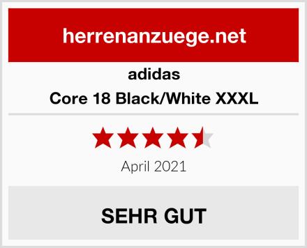 adidas Core 18 Black/White XXXL Test