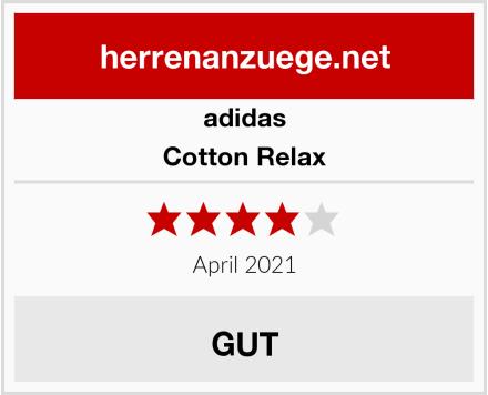 adidas Cotton Relax Test