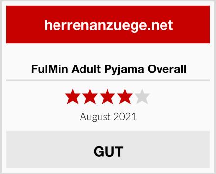 FulMin Adult Pyjama Overall Test