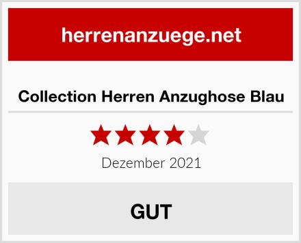 Collection Herren Anzughose Blau Test