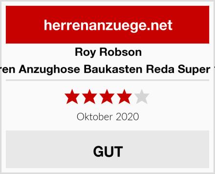 Roy Robson Herren Anzughose Baukasten Reda Super 110s Test