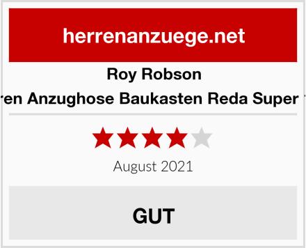 Roy Robson Herren Anzughose Baukasten Reda Super 120s Test