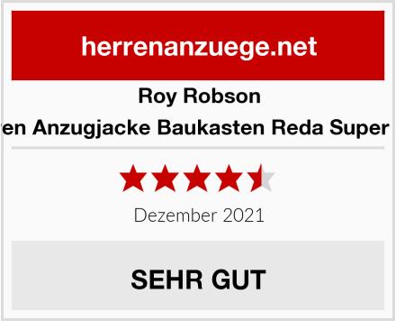 Roy Robson Herren Anzugjacke Baukasten Reda Super 120s Test