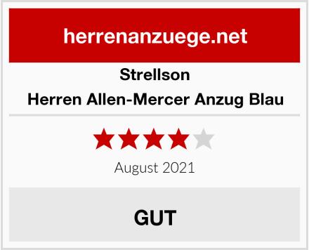 Strellson Herren Allen-Mercer Anzug Blau Test