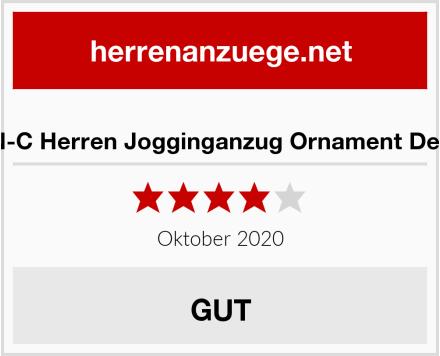 C-IN-C Herren Jogginganzug Ornament Design Test
