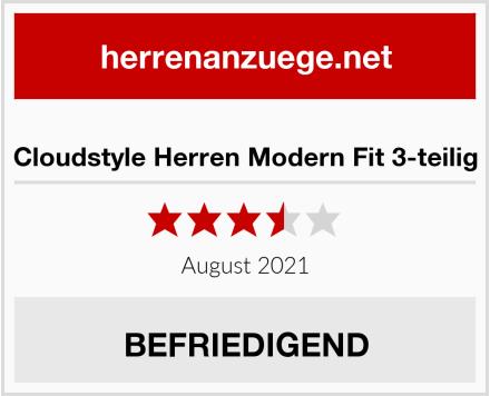 Cloudstyle Herren Modern Fit 3-teilig Test