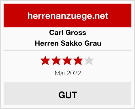 Carl Gross Herren Sakko Grau Test
