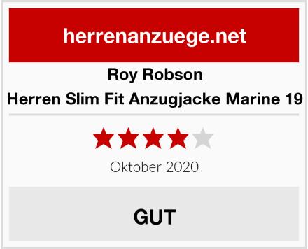 Roy Robson Herren Slim Fit Anzugjacke Marine 19 Test