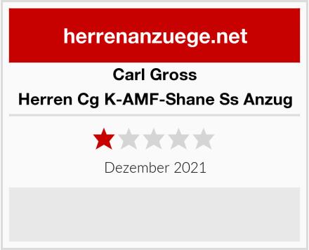 Carl Gross Herren Cg K-AMF-Shane Ss Anzug Test