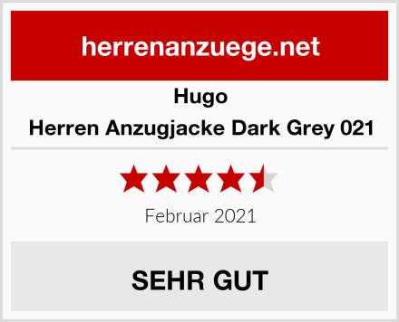 Hugo Herren Anzugjacke Dark Grey 021 Test