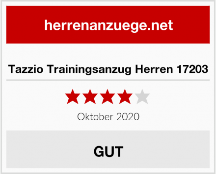 Tazzio Trainingsanzug Herren 17203 Test