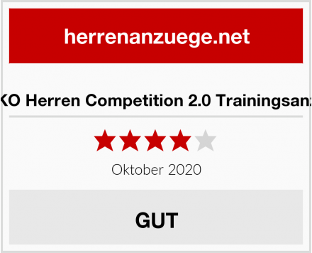 JAKO Herren Competition 2.0 Trainingsanzug Test
