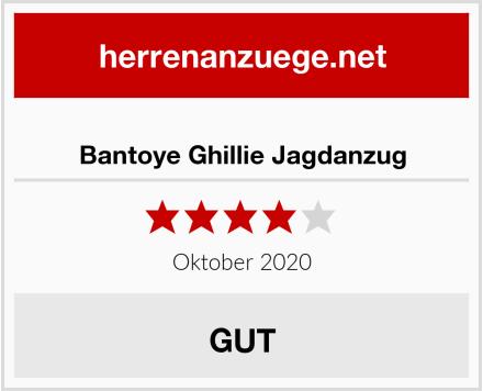 Bantoye Ghillie Jagdanzug Test