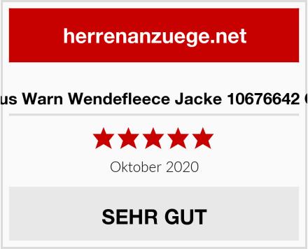 Hubertus Warn Wendefleece Jacke 10676642 Oliv 315 Test