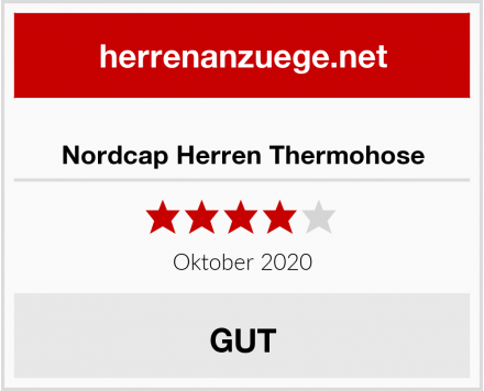 Nordcap Herren Thermohose Test