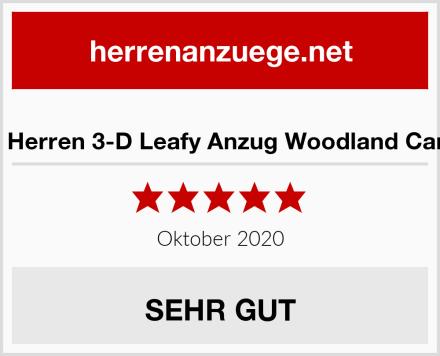 Hot Shot Herren 3-D Leafy Anzug Woodland Camouflage Test