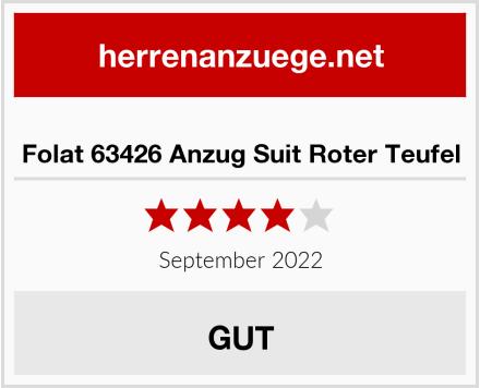 Folat 63426 Anzug Suit Roter Teufel Test