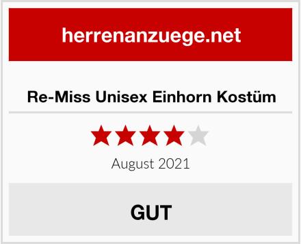 Re-Miss Unisex Einhorn Kostüm Test