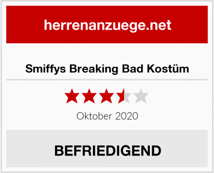 Smiffys Breaking Bad Kostüm Test