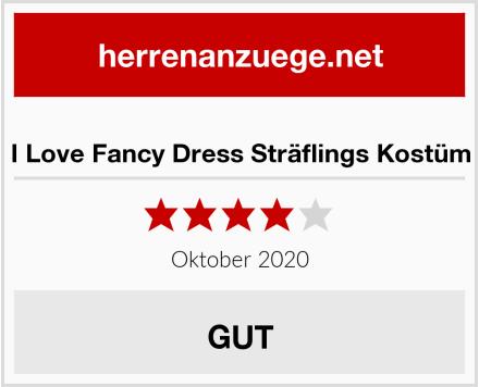 I Love Fancy Dress Sträflings Kostüm Test