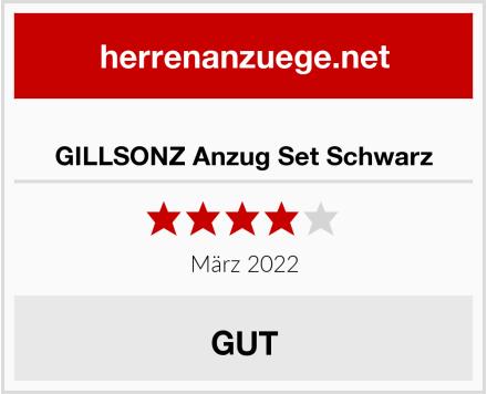 GILLSONZ Anzug Set Schwarz Test