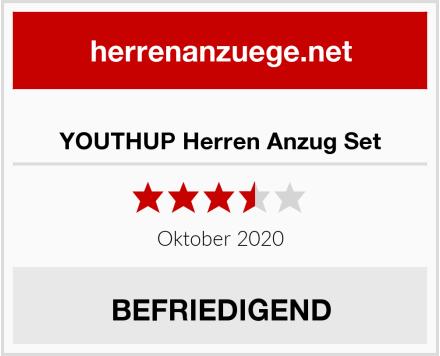 YOUTHUP Herren Anzug Set Test