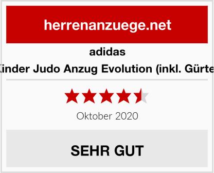 adidas Kinder Judo Anzug Evolution (inkl. Gürtel) Test