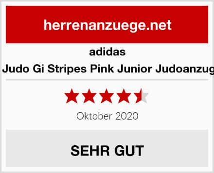 adidas J350 Club Judo Gi Stripes Pink Junior Judoanzug Mädchen Test