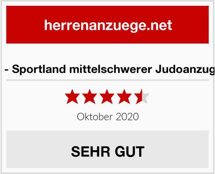 S.B.J - Sportland mittelschwerer Judoanzug blau Test