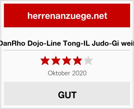 DanRho Dojo-Line Tong-IL Judo-Gi weiß Test