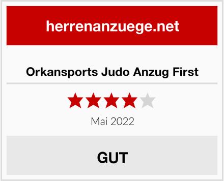 Orkansports Judo Anzug First Test