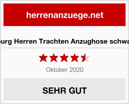 h.moser Salzburg Herren Trachten Anzughose schwarz 'Sebastian' Test