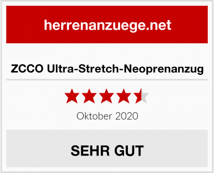 ZCCO Ultra-Stretch-Neoprenanzug Test