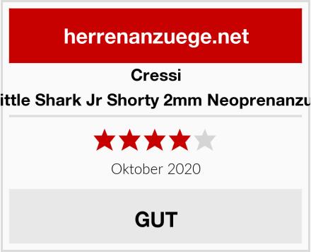 Cressi Little Shark Jr Shorty 2mm Neoprenanzug Test
