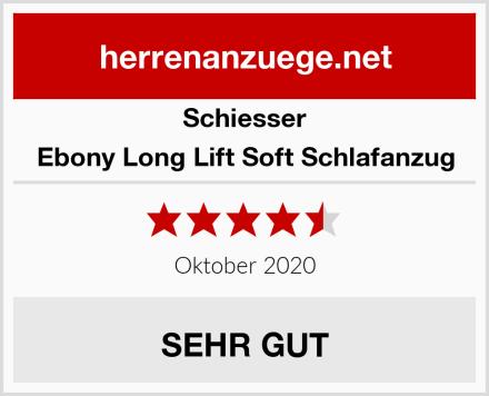 Schiesser Ebony Long Lift Soft Schlafanzug Test