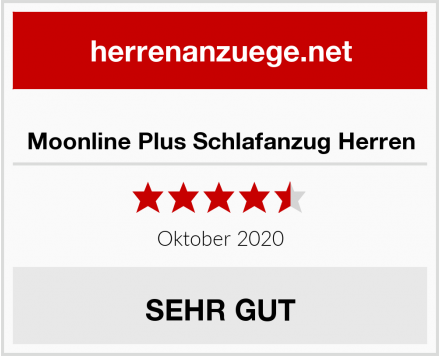 Moonline Plus Schlafanzug Herren Test