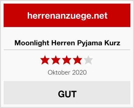 Moonlight Herren Pyjama Kurz Test