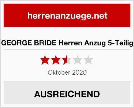 GEORGE BRIDE Herren Anzug 5-Teilig Test