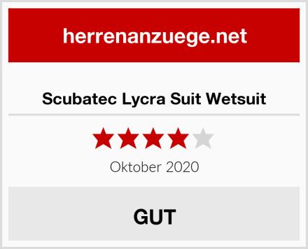 Scubatec Lycra Suit Wetsuit Test