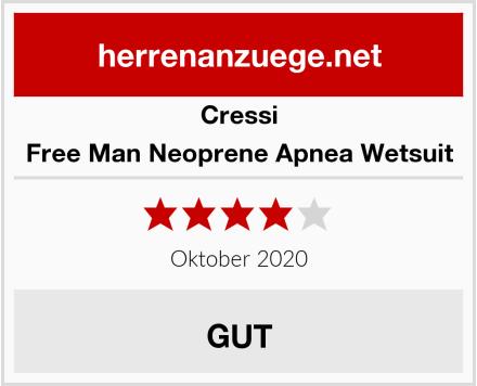 Cressi Free Man Neoprene Apnea Wetsuit Test
