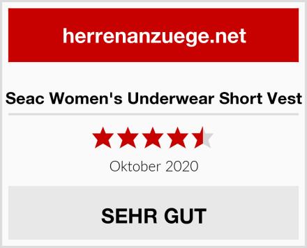 Seac Women's Underwear Short Vest Test