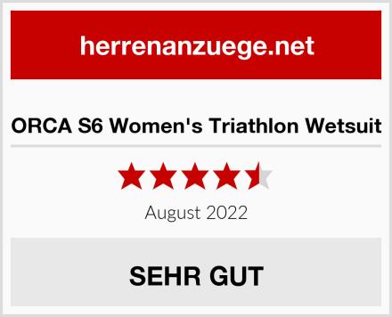ORCA S6 Women's Triathlon Wetsuit Test