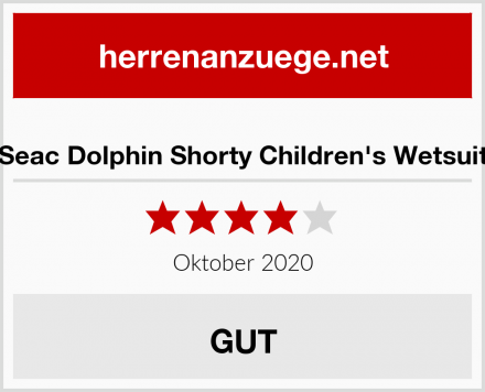 Seac Dolphin Shorty Children's Wetsuit Test