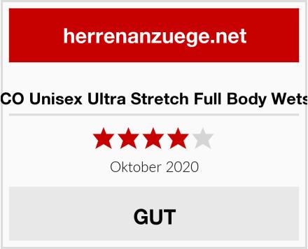 ZCCO Unisex Ultra Stretch Full Body Wetsuit Test